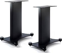 kef the reference 1 speaker stands pair at audio affair