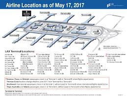 New York Airport Map Terminals by 21 Airlines At Lax Will Change Terminals In May Curbed La