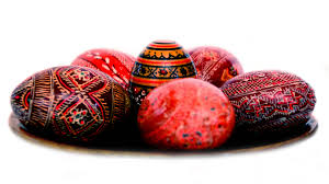easter eggs wallpapers selection of patterned red easter eggs easter wallpaper
