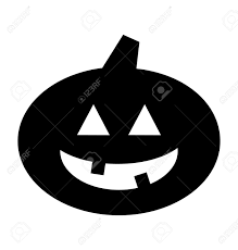black and white halloween pumpkin clipart halloween pumpkin jack o lantern silhouette royalty free cliparts
