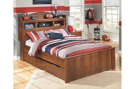 barchan full bookcase bed with trundle ashley furniture homestore