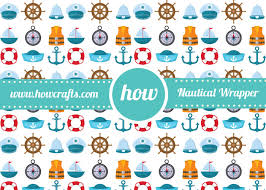 nautical wrapping paper howcrafts birthday wrapping paper archives howcrafts