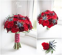 wedding flowers newcastle roses and thistles wedding flowers bouquet and button from