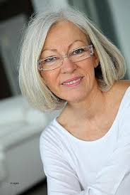 short hairstyles short hairstyles for grey hair and glasses