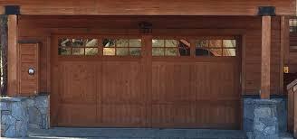 Superior Overhead Door by Sierra Nevada Overhead Door Custom Garage Doors