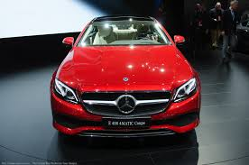 2018 mercedes benz e class coupe removes two doors and comes to