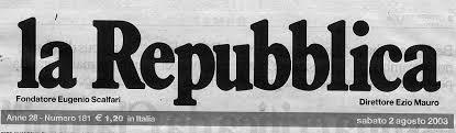 la testata la testata la repubblica del 2 8 2003 un sito per le vittime del terrorismo