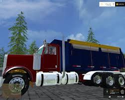 freightliner dump truck freightliner fld12064sd dump v2 fs 2015 farming simulator 2017