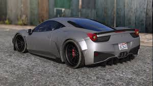 widebody ferrari prior design ferrari 458 widebody add on tuning liveries