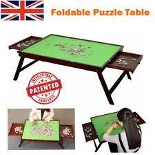 jigsaw puzzle tables portable jigsaw table ebay