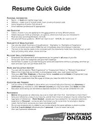 Resume Employment Gap Examples by Quick Resume Template