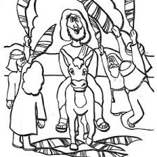 history of palm sunday coloring page color luna