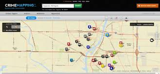 Crime Mapping Com Where Is Crime Happening Near You View New Online Map For Saginaw
