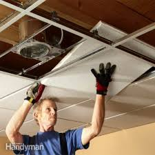 Installing Can Lights In Ceiling How To Put Recessed Lights In A Drop Ceiling Lighting Ideas