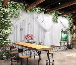 Fabric Wall Murals by Online Get Cheap Wedding Fabric Wall Aliexpress Com Alibaba Group