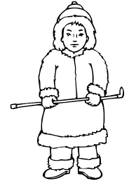 awesome book inuit eskimo coloring pages countries u0026 culture