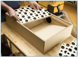 delta downdraft sanding table 10 downdraft table plans and build notes for wood shops a dust