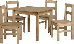 Waxed Pine Dining Table Panama Small Budget Pine Dining Table And 4 Chairs In Wax