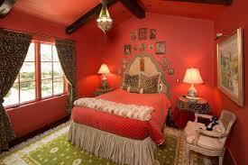 cheetah bedrooms cheetah print and red bedroom video and photos madlonsbigbear com