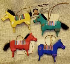 navajo folk wooden ornament