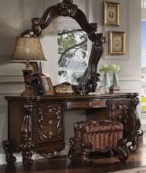 Vanity Desk Mirror A U0026j Homes Studio Royal Vanity Desk U0026 Reviews Wayfair
