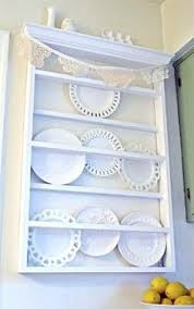 Shabby Chic Plate Rack by Love The Shabby Chic Plate Rack And The Old Plates Are Wonderful