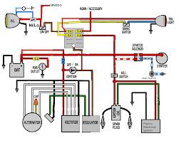 wiring diagram for separate regulator rectifier yamaha xs650 forum