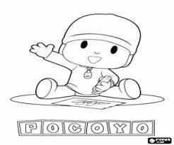pocoyo coloring pages printable games 2