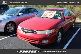 Toyota Asis 2000 Used Toyota Camry Solara As Is For Parts Only No Warranty