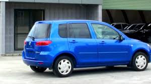 mazda country of origin mazda demio 2002 metallic blue 94k auto youtube