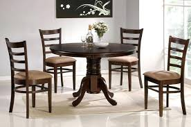 Pedestal Tables And Chairs Lasalle Espresso 9 Piece Pedestal Extending Table Dining Set