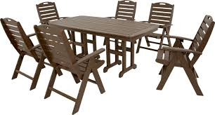 Outdoor Furniture Syracuse Ny by Trex Yacht Club 7 Piece Dining Set U0026 Reviews Wayfair