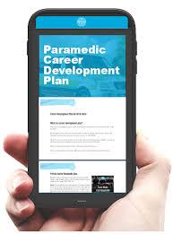 career development plans paramedic career development plan let us plan your paramedic
