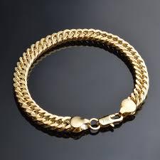 man hand bracelet images Online shop jexxi promotion elegant mens chain bracelets gold jpg