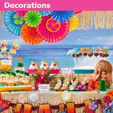 hawaiian decorations for birthday various ideas for the