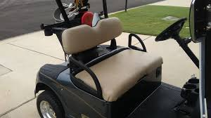 Club Car Ds Roof by Golf Cart Seat Replacement Luxury Bucket Seats Front Back