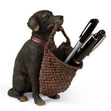 dog pencil holder sturbridge yankee workshop
