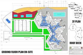 floor plan of a hotel artstation college architectural thesis boards jolo de dios