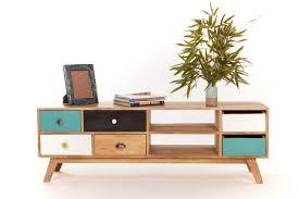 Meuble tv bas design scandinave Idées pour la maison
