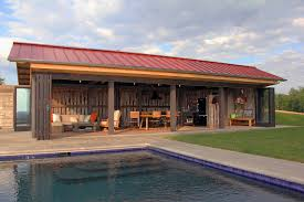 galleries related pool house designs with outdoor kitchen for