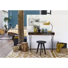 bureau console la redoute bureau console vintage watford noyer noir la redoute interieurs