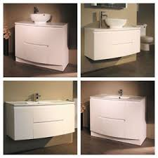 Wall Hung Amp Floor Bathroom Basin Sink Vanity Furniture Storage - Bathroom basin with cabinet