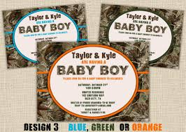 camouflage baby shower items similar to camo baby shower invitation camouflage