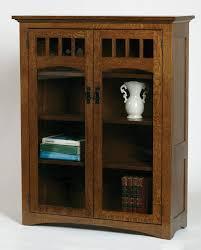 White Bookshelf With Glass Doors Bookshelf With Glass Doors Traditional Interior Design With
