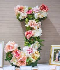 Floral Decor 104 Best Blumenbuchstaben Wohnklamotte Images On Pinterest