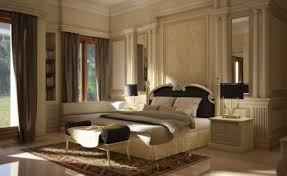 bedroom stunning interior in cream theme bedrooms design with