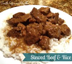south your mouth stewed beef u0026 rice