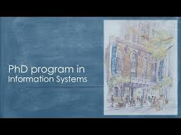 doctoral program in information systems u2013 information systems