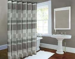 Shower Curtain Track Hooks Shower Curtains Split Shower Curtain Bathroom Decoration Shower