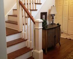 Oak Banisters And Handrails Stairs U0026 Railings Morse Lumber